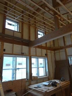 天井が高い子ども部屋