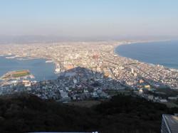 昼間の函館山