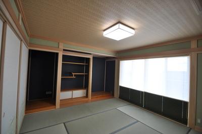 二間つづきの和室