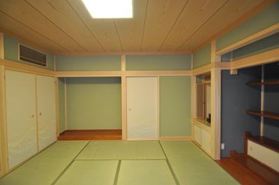 和室に納戸