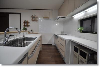 2列型対面キッチン