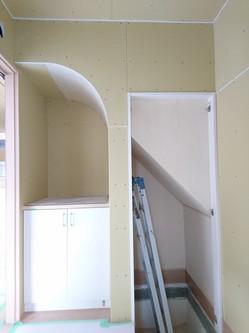 階段下に見えない工夫