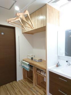 家事ラク室の棚