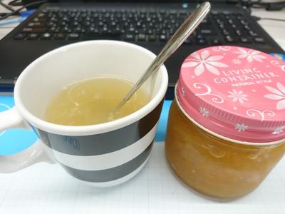 食べる柚子茶