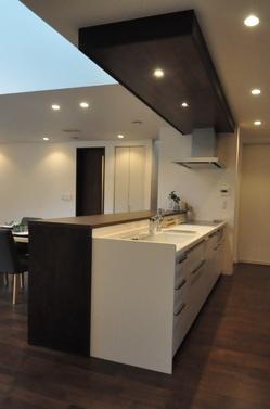 キッチン 折り下げ天井