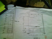 棚の設計図です