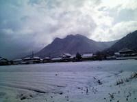 雪の三尾山