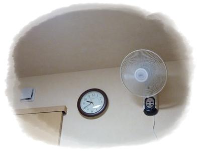 壁付扇風機