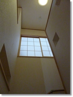 階段の障子