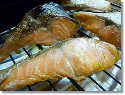 焼いた塩鮭