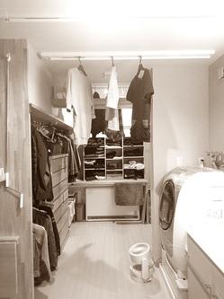 家事ラク室 洗濯物 室内干し