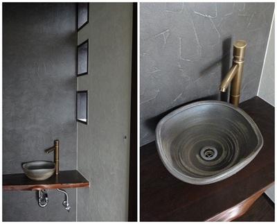 トイレの手洗い鉢