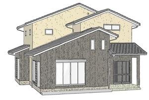 上下で住み分ける二世帯住宅