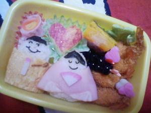ひな祭りのお弁当