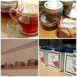 紅茶を飾る