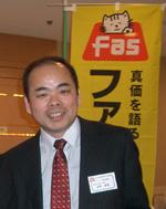 社長の荻野富雄です
