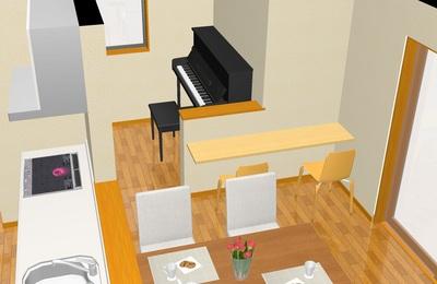ピアノ置き場