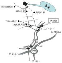 構造見学会 地図